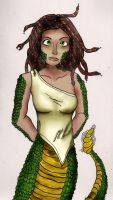 Gorgon (request) by frostviper101