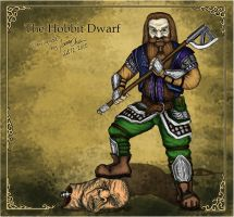 Dwarf inspired by the hobbit by JOVictory