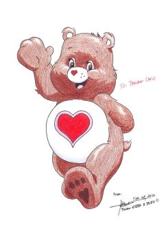 Tender Heart Bear by hirokada