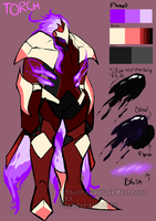 NEW OC: Torch by TheSteamPunkMistress