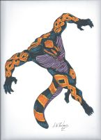 M.A.D.lands- Gila Monster by AWRowland