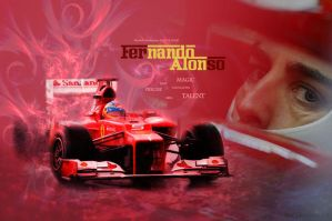 Fernando Alonso by hnl