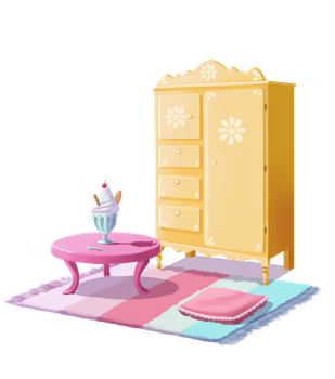 Little Girl's Room by Hikari-chyan