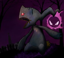 Banette by McRomu