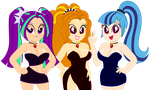 Anti-Heroine Lady Lineup by MrMaclicious