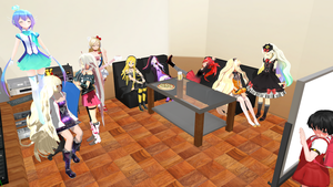 Vocaloid New Year Party by g-girl1
