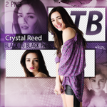 Crystal Reed PNG Pack (6) by EdaOran