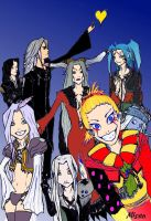 Final fantasy Vilains by MiSeN-MiSeN