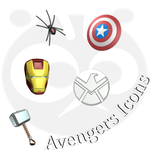 Avengers Icons by SireaSis