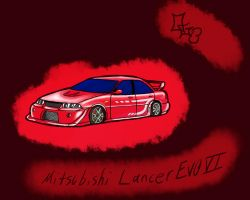 Mitsubishi Lancer Evo VI by Oregani