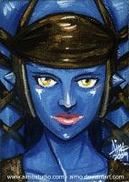 Aayla Secura Portrait by aimo