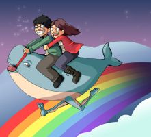 Magical Landwhale Adventure by kangel