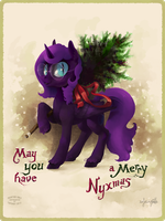 Merry Nyxmas! by sofas-and-quills