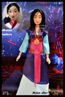 ooak mulan doll - the girl who saved china. by verirrtesIrrlicht