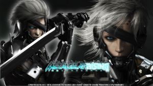 ::RAIDEN:: Metal Gear Rising Wallpaper by PokeTheCactus