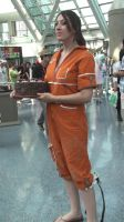 Chell from Portal at Anime Expo 2013 by trivto
