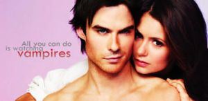 Nina Dobrev and Ian Somerhalder Signature by McOlussska