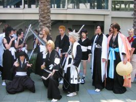 Bleach Cast Cosplay by Knightfourteen