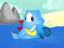 Water poke's by chibitracy