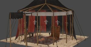 GERALD-TRISS TENT by Oo-FiL-oO