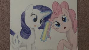 Rarity Rules Over Pinkie by TheFriendlyElephant
