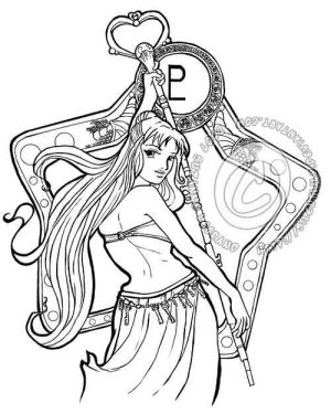 Belly Dance Pluto Inks