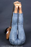 Jeans and Feet by D-ZHANG-PHOTOGRAPHY