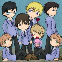 Ouran by DigitalYoshi by Paulalee