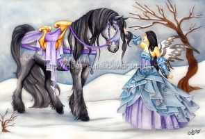 Snow Fantasy by Queen-Uriel