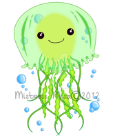 Chibi Jellyfish - Sold! by Stormweaver-Arts