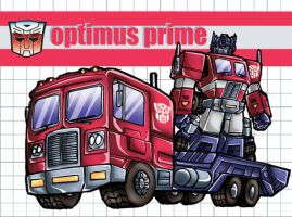 Autobot Leader Optimus Prime by 3niteam