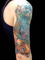 Carpa P Cover Up After by maximolutztattoo