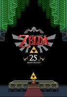 Zelda 25th Anniversary by walt7