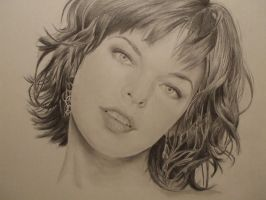 Milla Jovovich by WinglessAndTainted