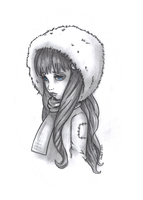 Winter tears by JadeDragonne
