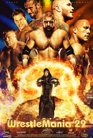 WrestleMania 29 ~ Poster like official style .. :D by MhMd-Batista