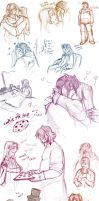 AB: GxA Ustream Doodledump by MooFrog44