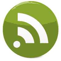 Transparent RSS Dock Icon by jawzf