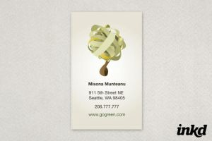 Eco Friendly Business Card by inkddesign