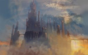 Floating Castle by willroberts04