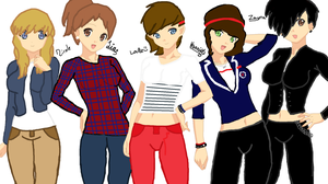 Genderbend One Direction by MelodyForte