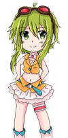 [Vocaloid pixels] GUMI by Andi-chin