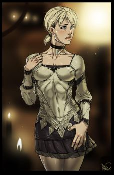 Haunting Ground - Fiona Belli fanart by Ganassa