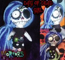Day of the dead girl doll by ScorpionsKissx