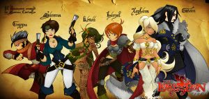 LoE -All Characters- by samuka