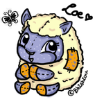 Loe the plushie babaa by Petit-Jolie