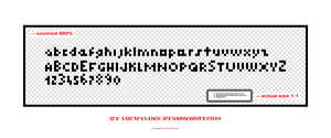 smallest font by luckylinx