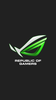 ROG green iPhone 6s plus by Alphaziel