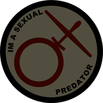 Sexual Predator Patch by BeadedGreenLizard