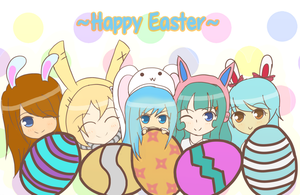 Happy Easter by Jerikuto